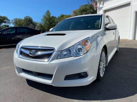 2010 Subaru Legacy for sale at SOUTH SHORE AUTO GALLERY, INC. in Abington MA