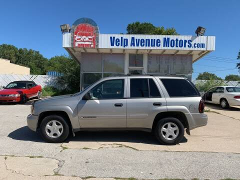 2002 Chevrolet TrailBlazer for sale at Velp Avenue Motors LLC in Green Bay WI