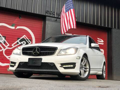 2013 Mercedes-Benz C-Class for sale at Apple Auto Sales Inc in Camillus NY