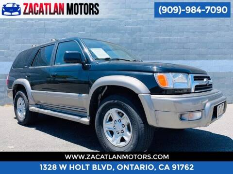 1999 Toyota 4Runner for sale at Ontario Auto Square in Ontario CA