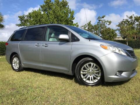 2013 Toyota Sienna for sale at Kaler Auto Sales in Wilton Manors FL