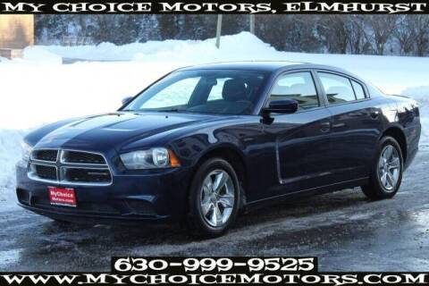 2014 Dodge Charger for sale at My Choice Motors Elmhurst in Elmhurst IL