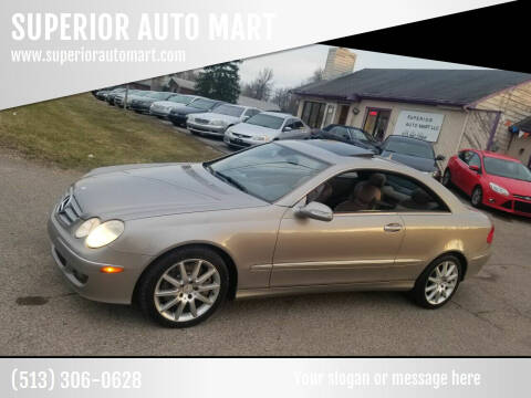 2007 Mercedes-Benz CLK for sale at SUPERIOR AUTO MART in Amelia OH
