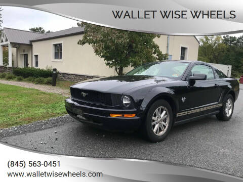 2009 Ford Mustang for sale at Wallet Wise Wheels in Montgomery NY