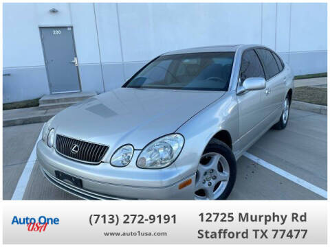 2000 Lexus GS 300 for sale at Auto One USA in Stafford TX