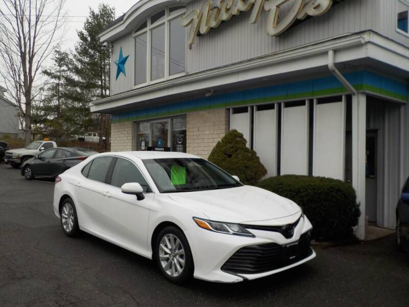 2018 Toyota Camry for sale at Nicky D's in Easthampton MA