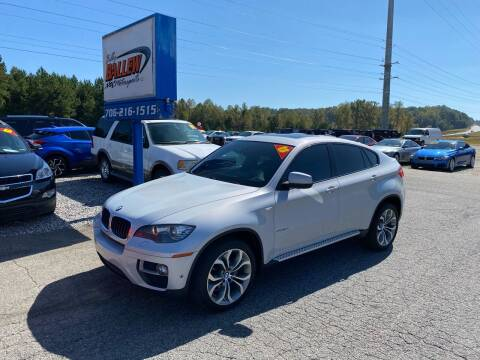 2013 BMW X6 for sale at Billy Ballew Motorsports in Dawsonville GA