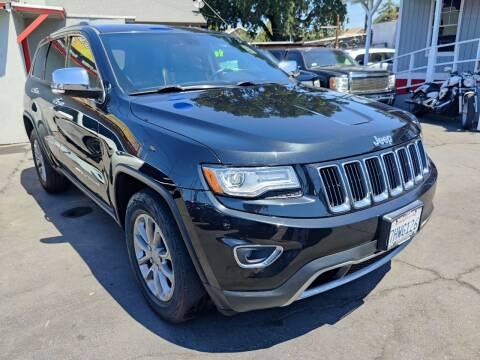 2015 Jeep Grand Cherokee for sale at Rey's Auto Sales in Stockton CA