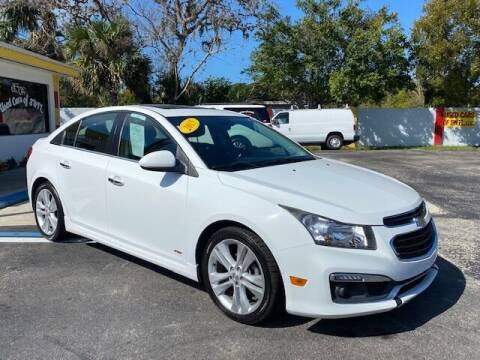 2015 Chevrolet Cruze for sale at Used Cars of SWFL in Fort Myers FL