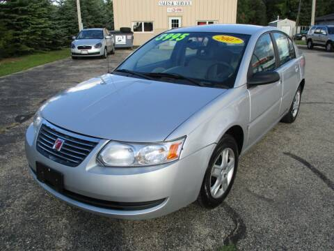 2007 Saturn Ion for sale at Richfield Car Co in Hubertus WI