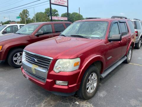 2008 Ford Explorer for sale at Sartins Auto Sales in Dyersburg TN