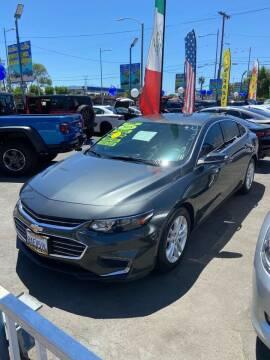 2018 Chevrolet Malibu for sale at 2955 FIRESTONE BLVD - 3271 E. Firestone Blvd Lot in South Gate CA