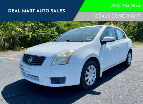2007 Nissan Sentra for sale at Deal Mart Auto Sales in Phenix City AL