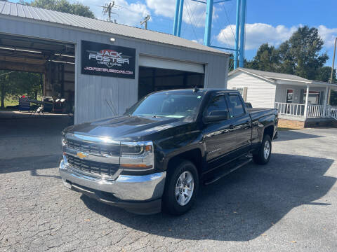 2018 Chevrolet Silverado 1500 for sale at Jack Foster Used Cars LLC in Honea Path SC