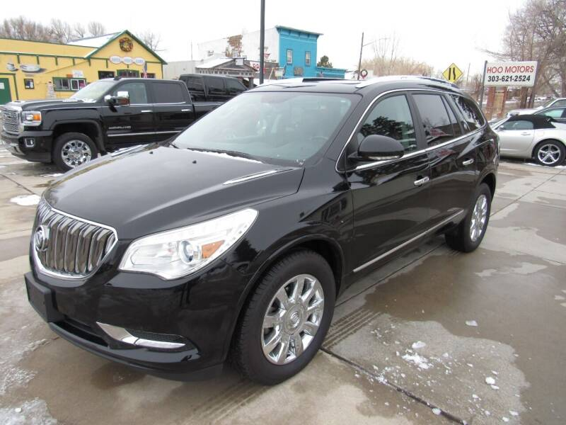 2017 Buick Enclave for sale at HOO MOTORS in Kiowa CO