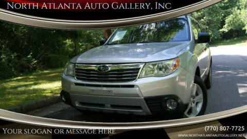 2010 Subaru Forester for sale at North Atlanta Auto Gallery, Inc in Alpharetta GA