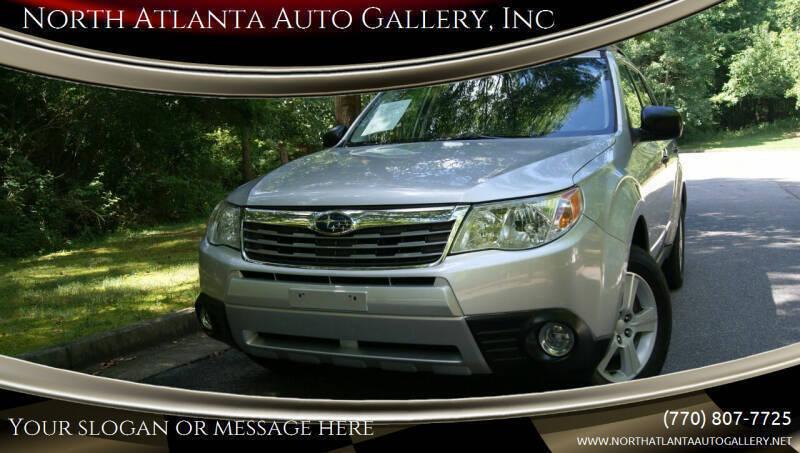 2010 Subaru Forester for sale at North Atlanta Auto Gallery, Inc in Alpharetta GA