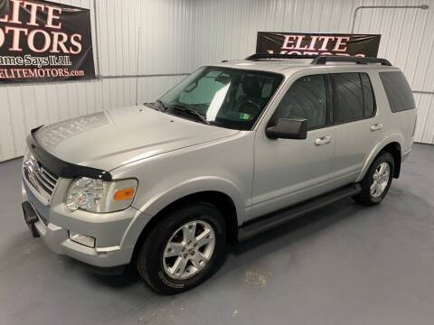 2009 Ford Explorer for sale at Elite Motors in Uniontown PA