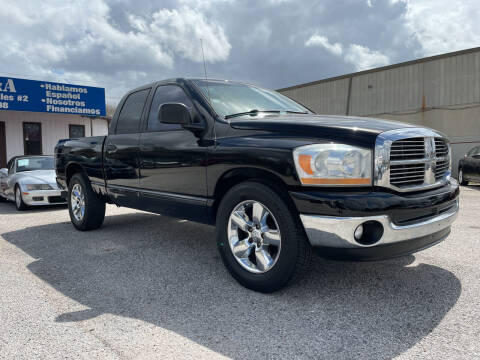 2006 Dodge Ram Pickup 1500 for sale at P & A AUTO SALES in Houston TX