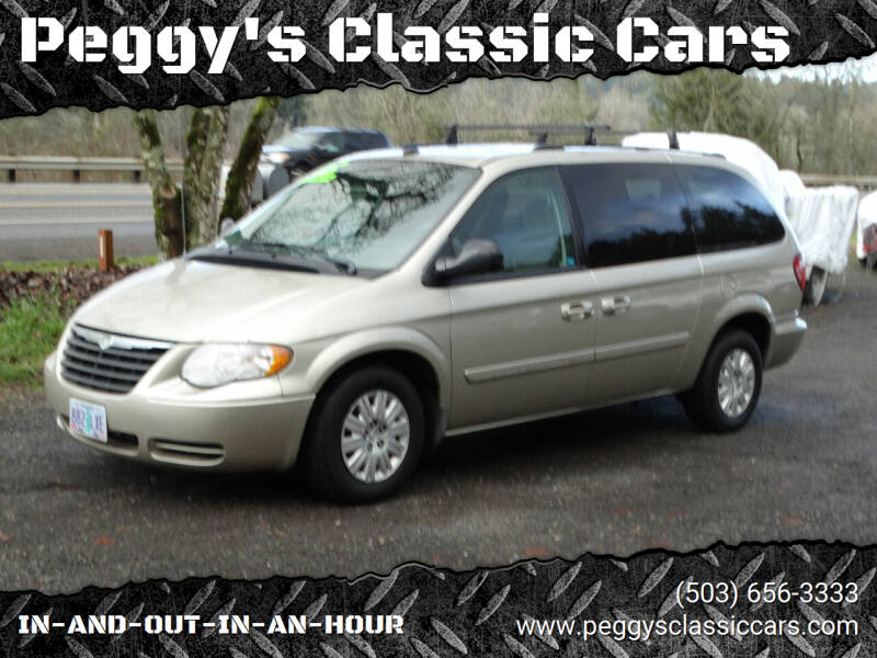 2005 Chrysler Town and Country for sale at Peggy's Classic Cars in Oregon City OR