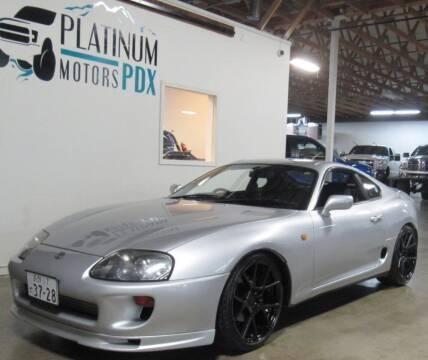 1993 Toyota Supra for sale at Platinum Motors in Portland OR