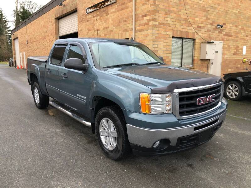 2011 GMC Sierra 1500 for sale at KARMA AUTO SALES in Federal Way WA