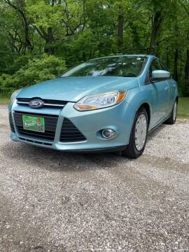 2012 Ford Focus for sale at QUAD CITIES AUTO SALES in Milan IL