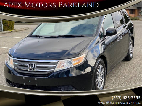 2012 Honda Odyssey for sale at Apex Motors Parkland in Tacoma WA