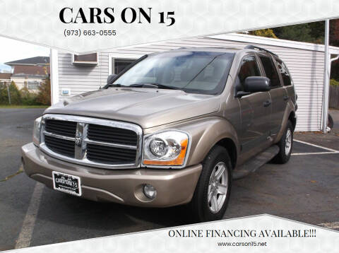 2006 Dodge Durango for sale at Cars On 15 in Lake Hopatcong NJ