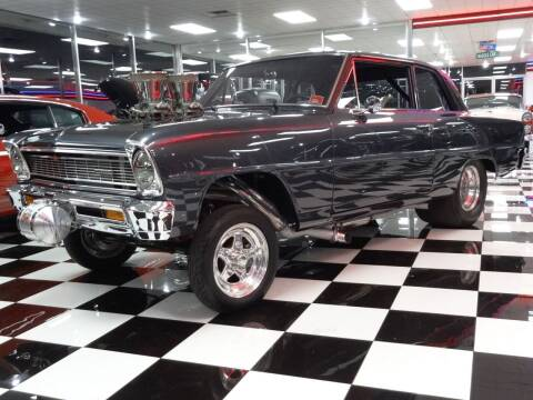 1966 Chevrolet Nova for sale at Wagner's Classic Cars in Bonner Springs KS