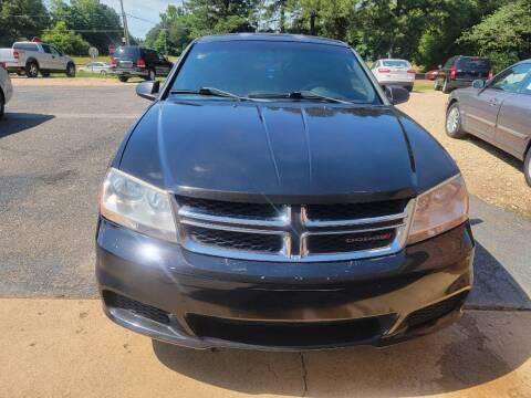 2013 Dodge Avenger for sale at Five Star Motors in Senatobia MS