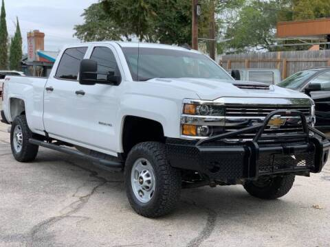 2017 Chevrolet Silverado 2500HD for sale at AWESOME CARS LLC in Austin TX