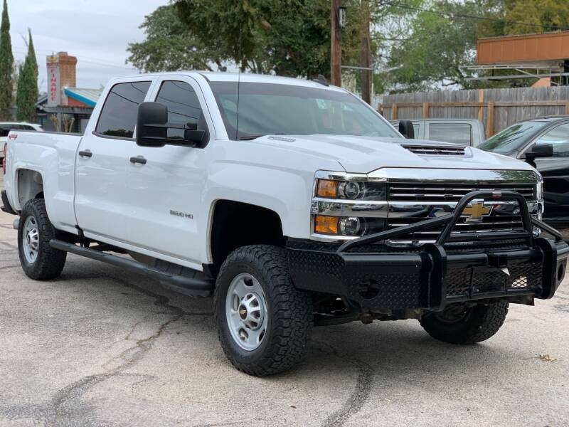 2017 Chevrolet Silverado 2500HD for sale at AWESOME CARS LLC in Austin TX