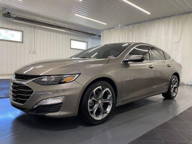 2020 Chevrolet Malibu for sale at Monster Motors in Michigan Center MI