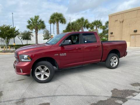 2014 RAM Ram Pickup 1500 for sale at Easy Deal Auto Brokers in Hollywood FL