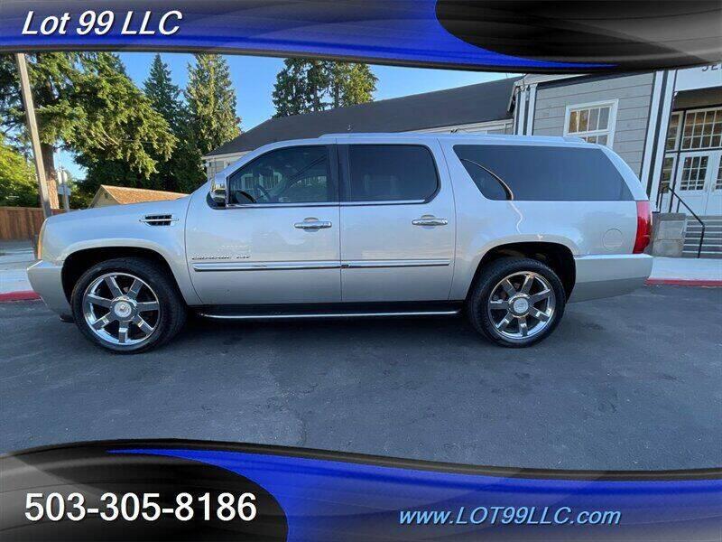 2010 Cadillac Escalade ESV for sale at LOT 99 LLC in Milwaukie OR