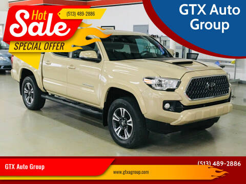 2018 Toyota Tacoma for sale at GTX Auto Group in West Chester OH