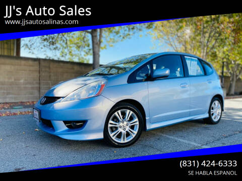 2009 Honda Fit for sale at JJ's Auto Sales in Salinas CA