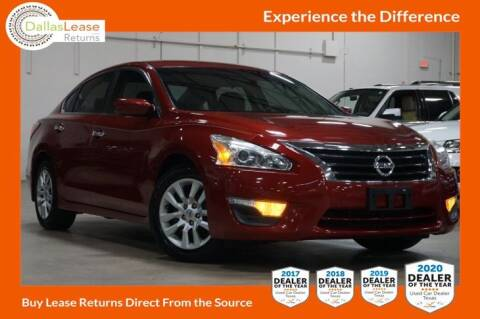 2015 Nissan Altima for sale at Dallas Auto Finance in Dallas TX
