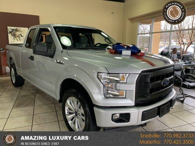 2017 Ford F-150 for sale at Amazing Luxury Cars in Snellville GA