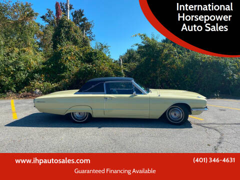 1966 Ford Thunderbird for sale at International Horsepower Auto Sales in Warwick RI