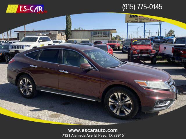 2013 Honda Crosstour for sale at Escar Auto in El Paso TX