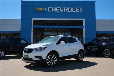 2021 Buick Encore for sale at Lipscomb Auto Center in Bowie TX