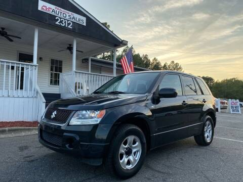 2008 Suzuki Grand Vitara for sale at CVC AUTO SALES in Durham NC