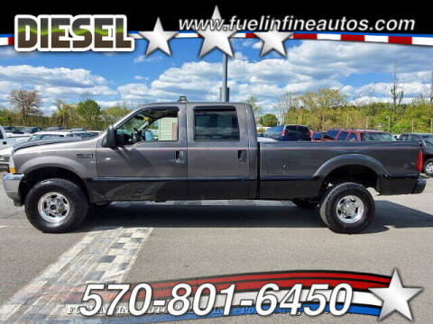 2002 Ford F-350 Super Duty for sale at FUELIN FINE AUTO SALES INC in Saylorsburg PA