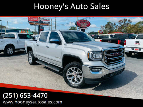 2018 GMC Sierra 1500 for sale at Hooney's Auto Sales in Theodore AL