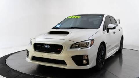 2016 Subaru WRX for sale at AUTOMAXX MAIN in Orem UT