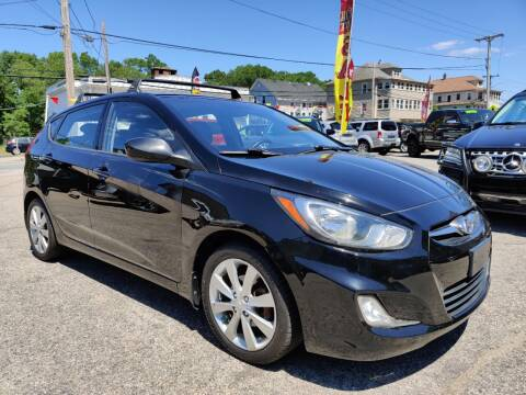 2012 Hyundai Accent for sale at Porcelli Auto Sales in West Warwick RI