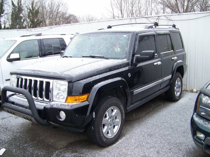2008 Jeep Commander for sale at Collector Car Co in Zanesville OH
