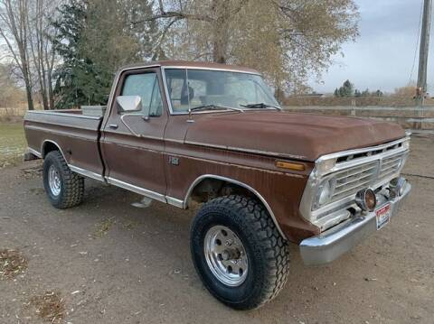 1975 Ford F-250 for sale at Classic Car Deals in Cadillac MI